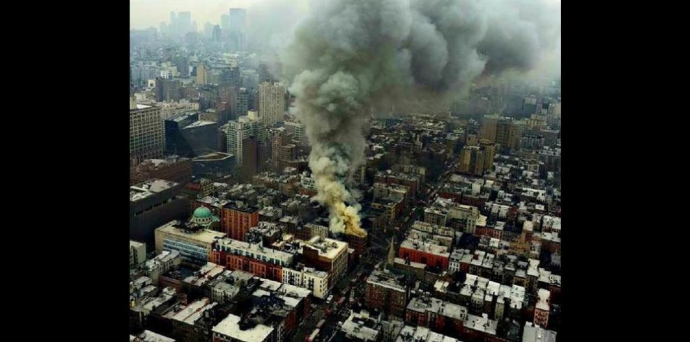 Explosión en edificio se debió a fuga de gas, confirma alcalde