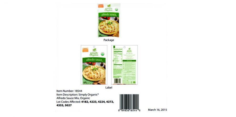 AUPSA alerta nuevos productos contaminados con salmonela