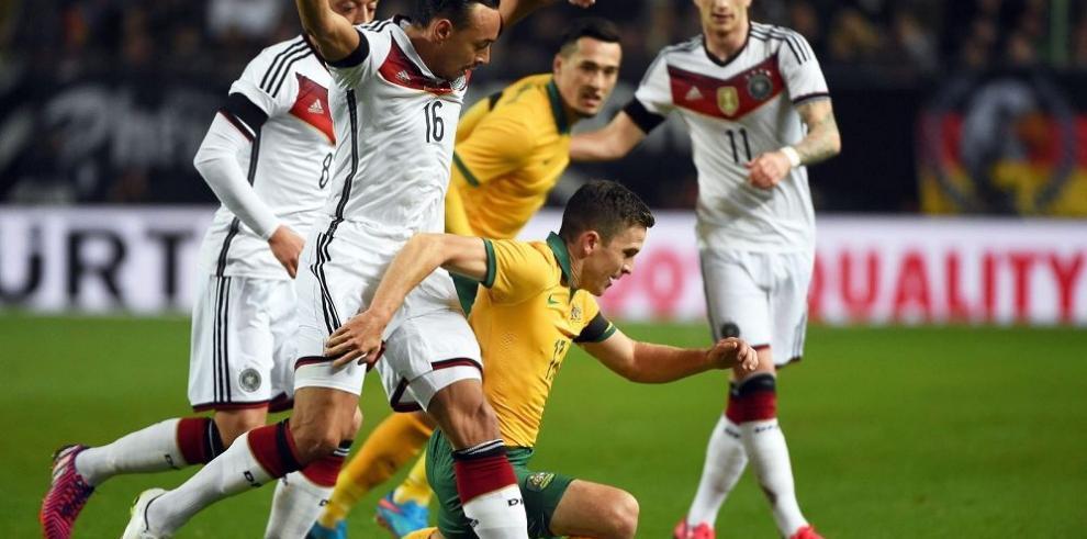 Australia complicó al campeón del mundo