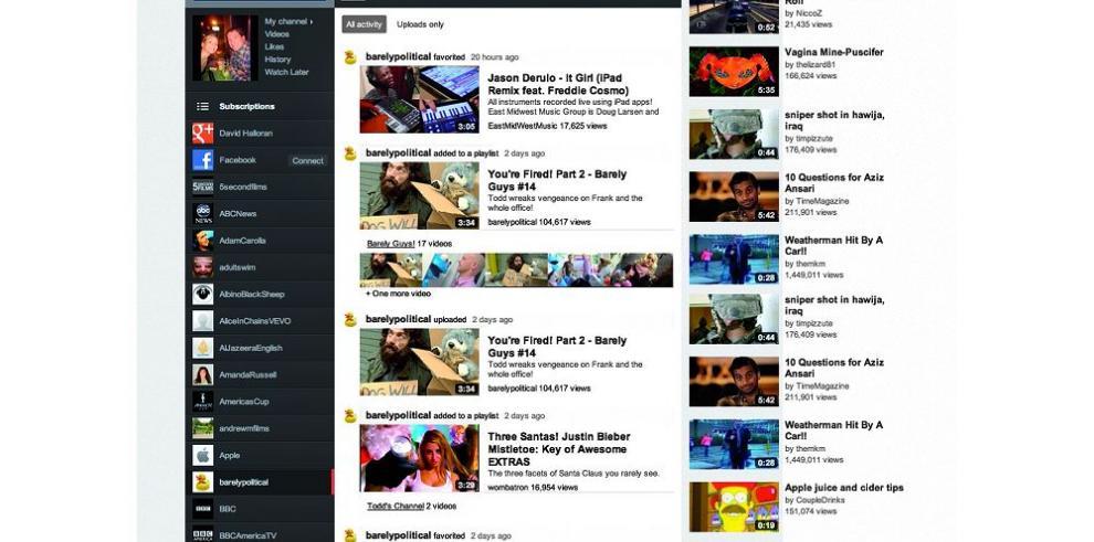 YouTube debuta en el streaming