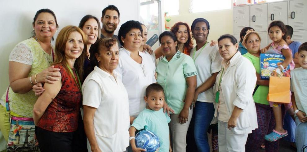 Alegría en el Hospital del Niño