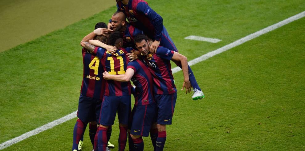 Barcelona gana su quinta Liga de Campeones al vencer 3-1 a Juventus