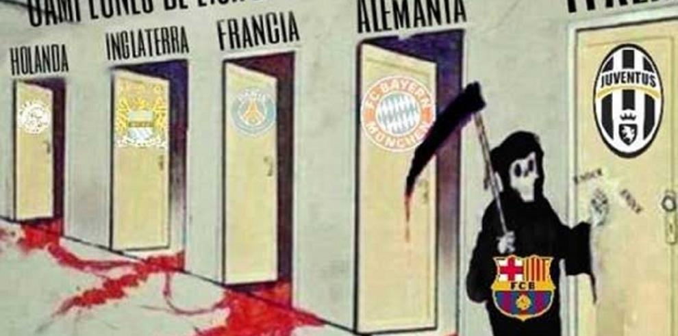 Memes de la final de la Champions League, Barcelona vs. Juventus