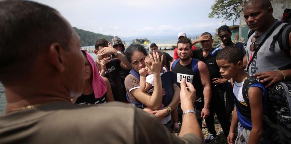 El drama cubano en la ruta Puerto Obaldía Paso Canoas