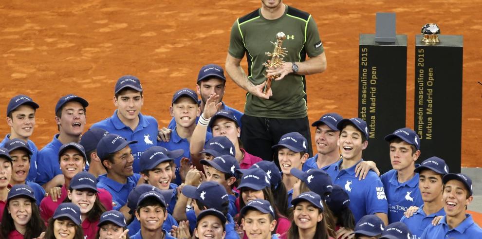 Andy Murray derrota a Rafael Nadal en la final del torneo de Madrid