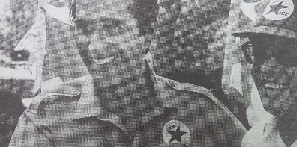 Exvicepresidente Ricardo Arias Calderón en el hospital