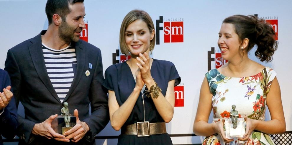 La reina Letizia luce nuevo look