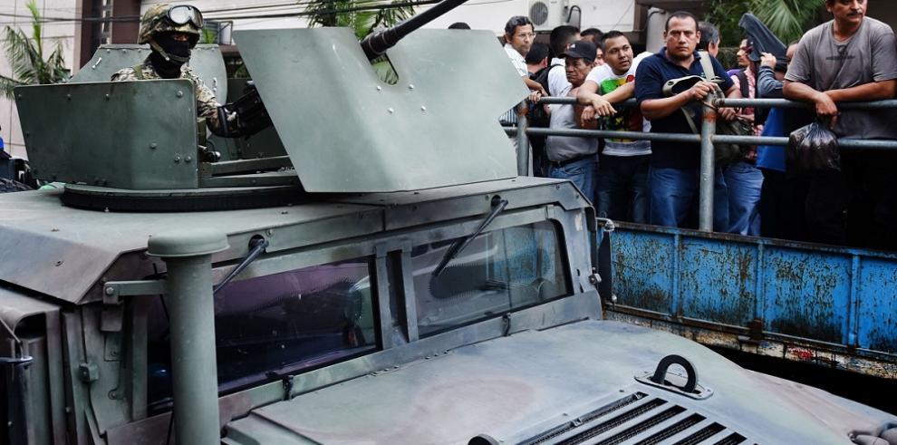 El Salvador, listo para desplegar el Ejército contra la pandilla Barrio 18