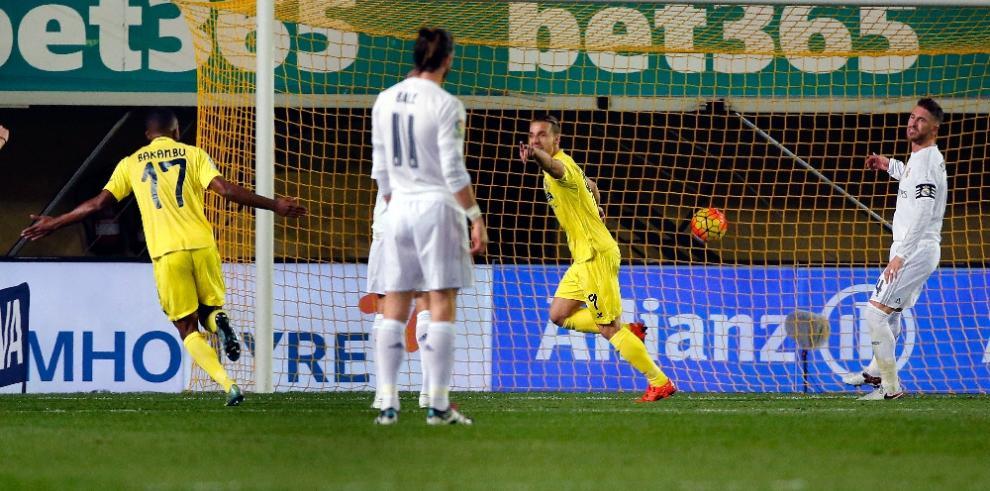 Real Madrid pierde en Villarreal y queda lejos de los líderes