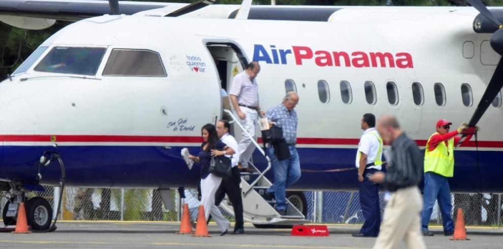 Chiriquí y Bocas del Toro conectados vía aérea