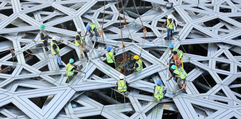Terminada la cúpula del Louvre