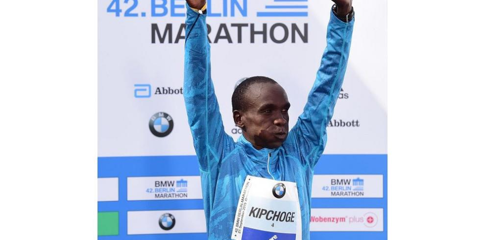 Kipchoge gana la maratón de Berlín