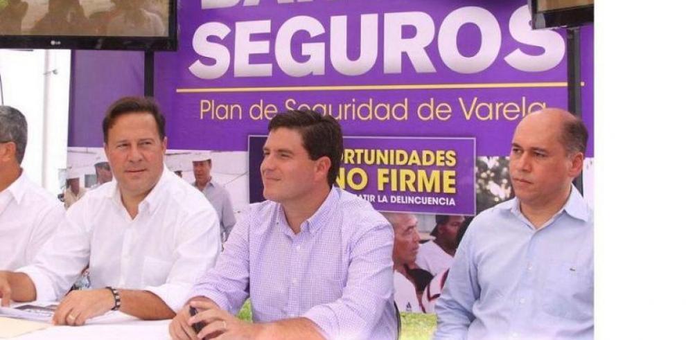 Gobierno invirtió $15 millones en Barrios Seguros