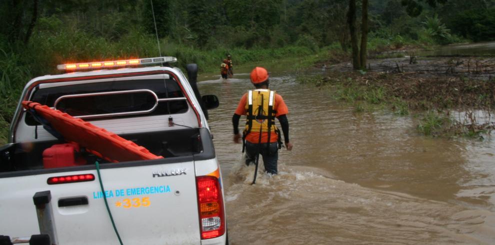 Lluvias afectaron a 24 viviendas en Chiriquí