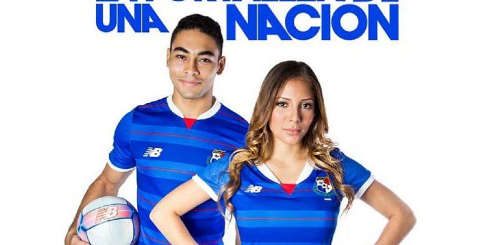 Presentan la tercera camiseta de la selección de Panamá