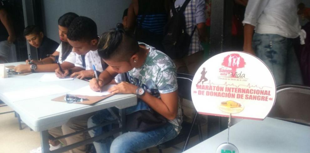 Realizan jornada voluntaria de donación de sangre