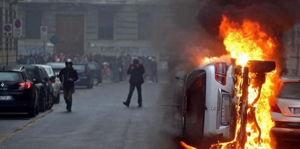 Violentos disturbios empañan el inicio de la Expo de Milán