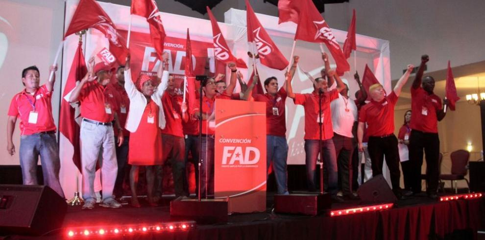 Miembros del FAD buscan revivir colectivo político