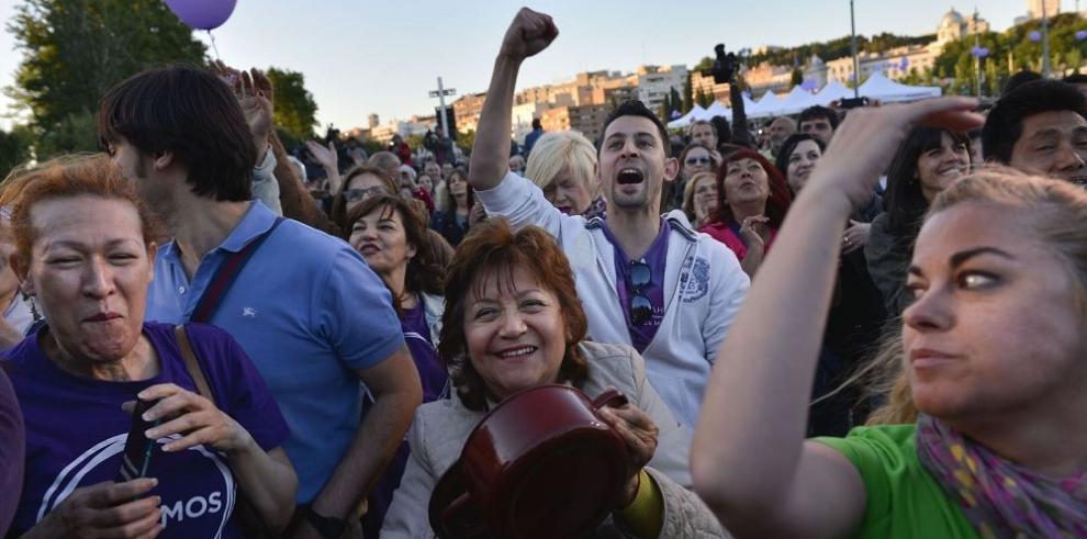 El PP enfrenta el auge de nuevas fuerzas políticas