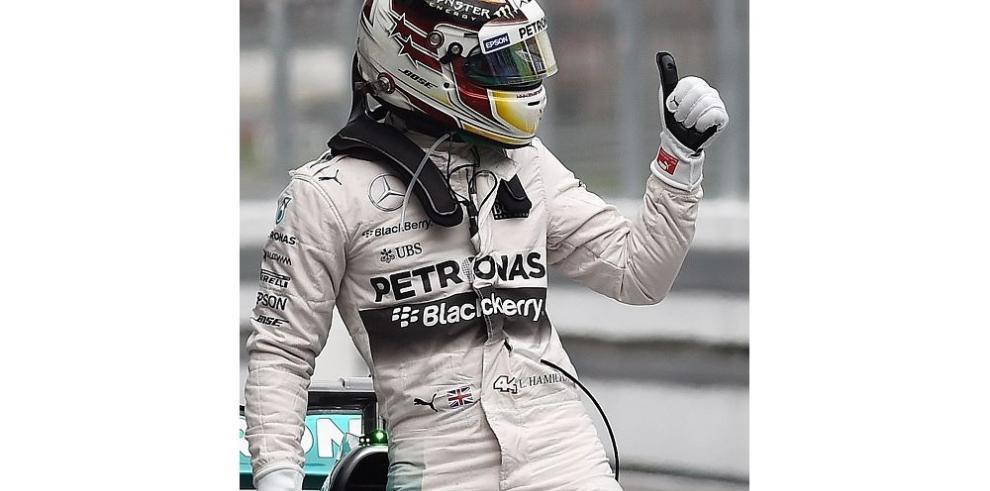 Hamilton largará de primero en Malasia
