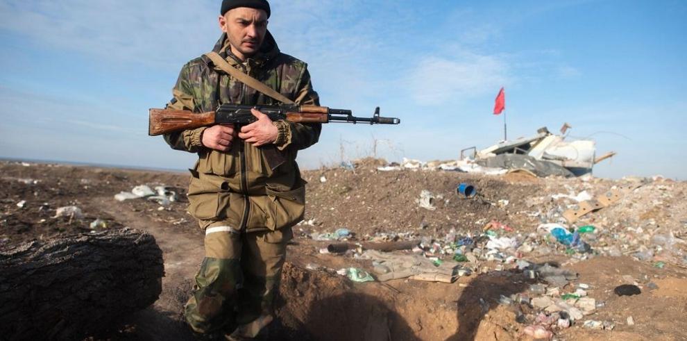 La tregua en Ucrania pudo ser violentada