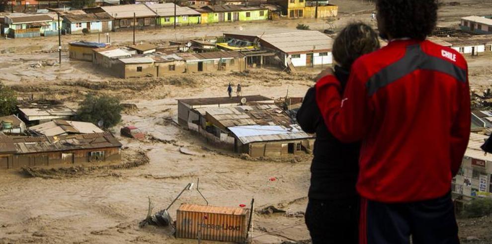 Tormenta en Chile dejó casi 11 mil damnificados
