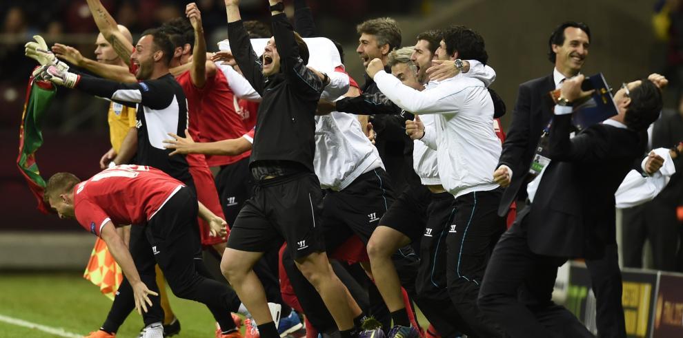 Sevilla campeón de la Liga Europea