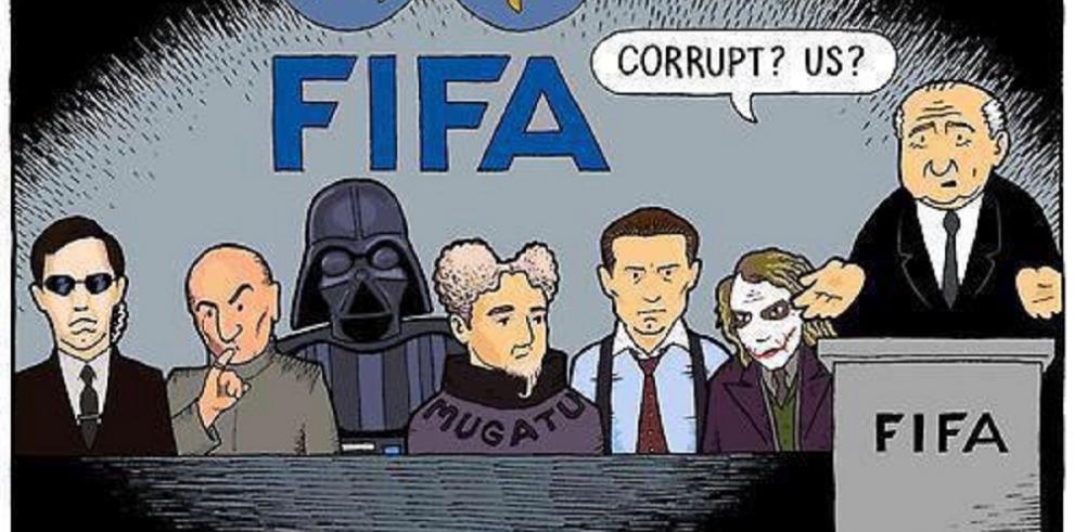 Memes tras escándalo de la FIFA