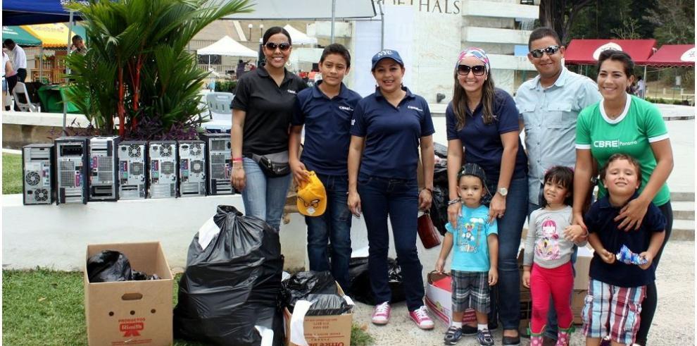 Panameños fomenta cultura de reciclaje