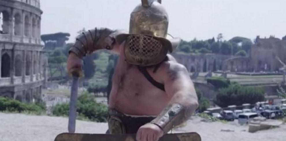 Video: Hotel en Roma brinda curso de gladiador a sus huéspedes