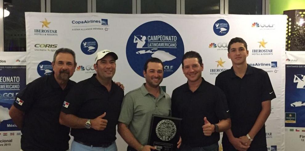 Panameños se quedan con el tercer lugar en torneo de golf