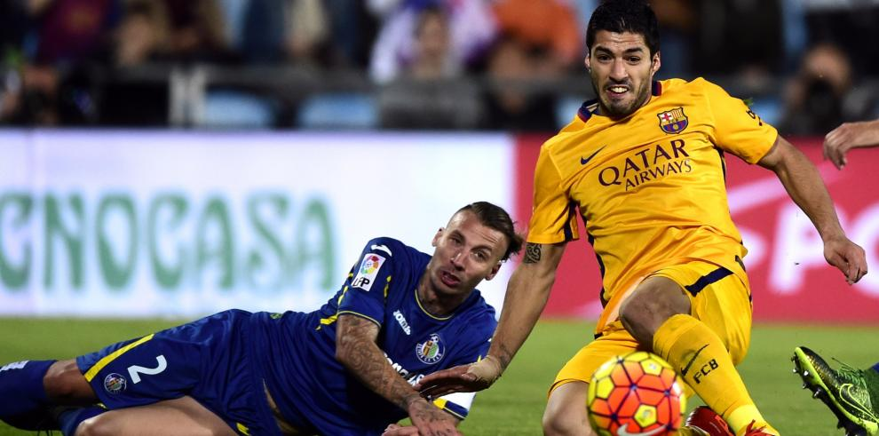 Barcelona le gana al Getafe