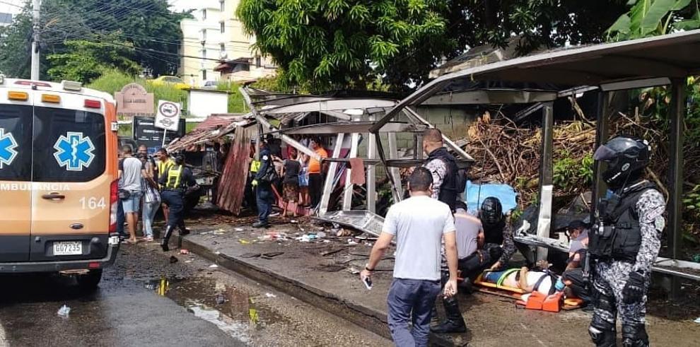 Accidente en Villa Lorena