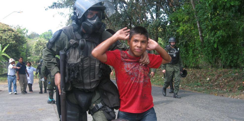 Colectivos denuncian,ante la CIDH, un aumento de la represión en Panamá