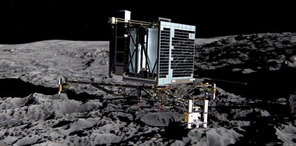 Un robot espacial se posará sobre un cometa por primera vez en la historia