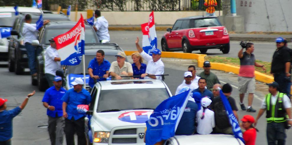 PRD se toma las calles de la capital