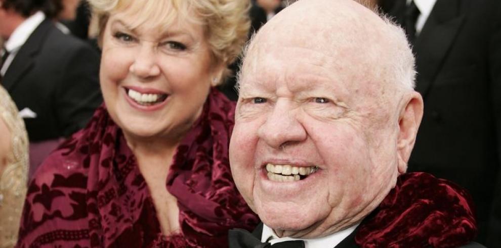 Mickey Rooney será enterrado en Hollywood