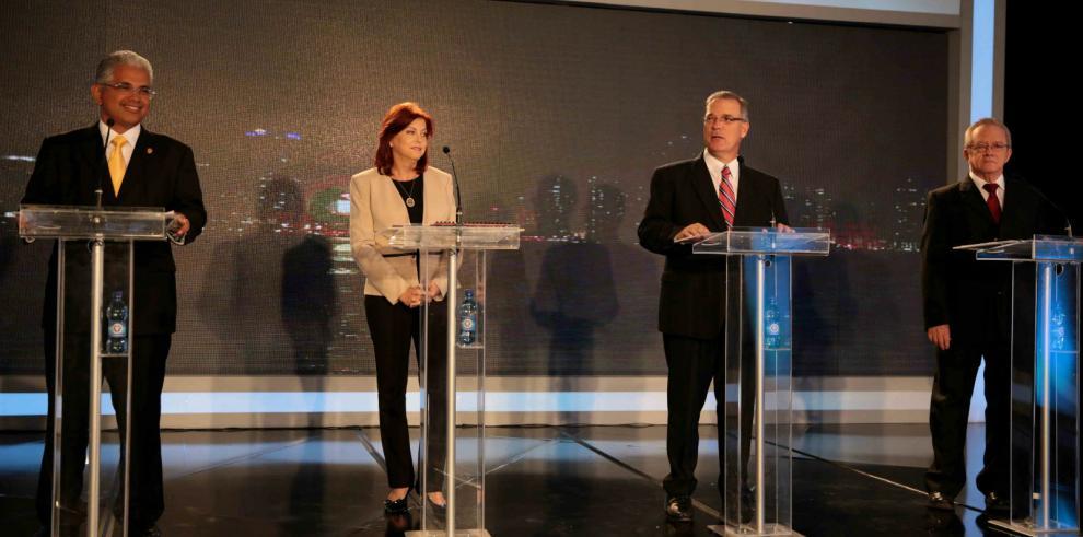 Los candidatos por la Alcaldía de Panamá debaten en vivo