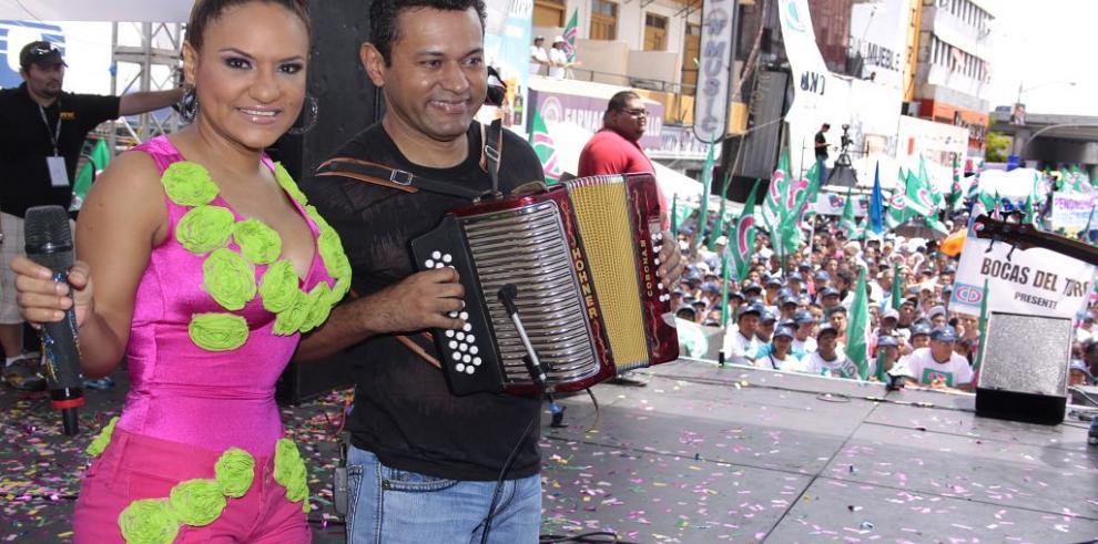 Sandra Sandoval víctima de los ladrones en Chilibre