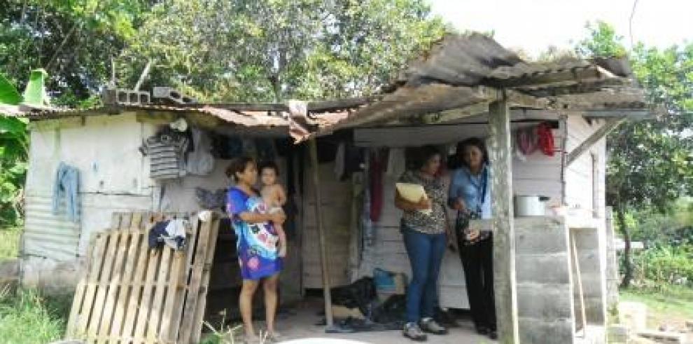 Miviot realiza censo en Burunga para Programa Techos de Esperanza