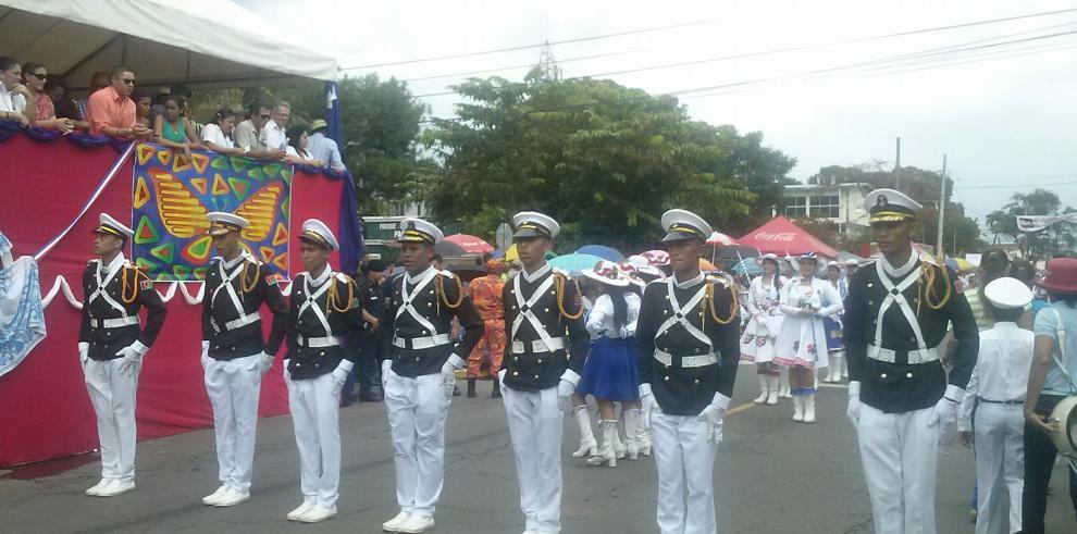 Refuerzan seguridad en los desfiles de la provincia de Chiriquí