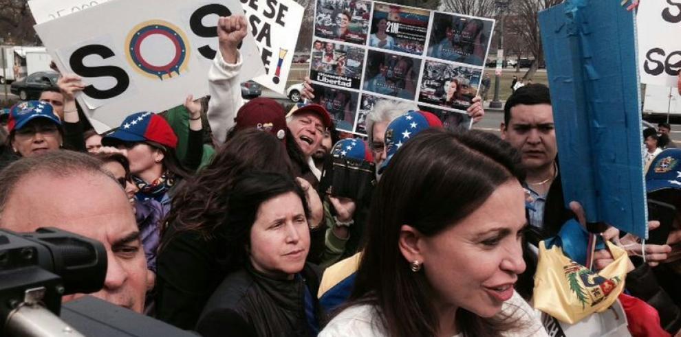 Machado lamenta rechazo de cancilleres de OEA para hablar de Venezuela