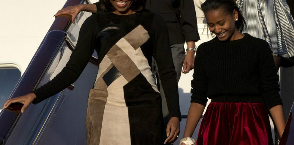 Michelle Obama llega a Pekín