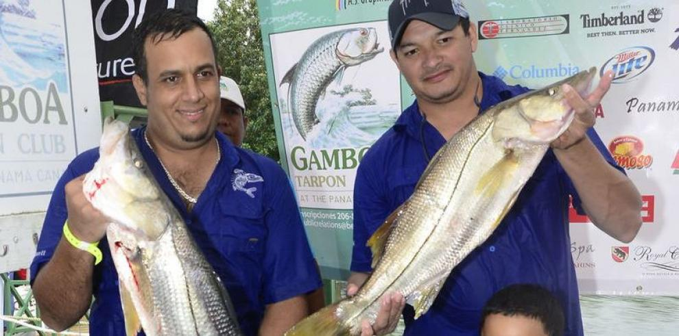 Estupenda pesca en torneo de Gamboa