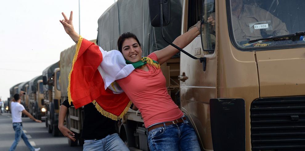 Estado Islámico libera a 25 alumnos kurdos sirios secuestrados