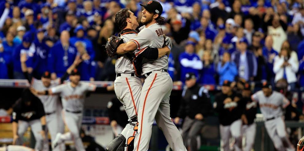Gigantes de San Francisco se proclaman campeones de la Serie Mundial