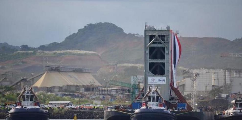 Benítez afirma que para el 2015 las esclusas deben estar listas