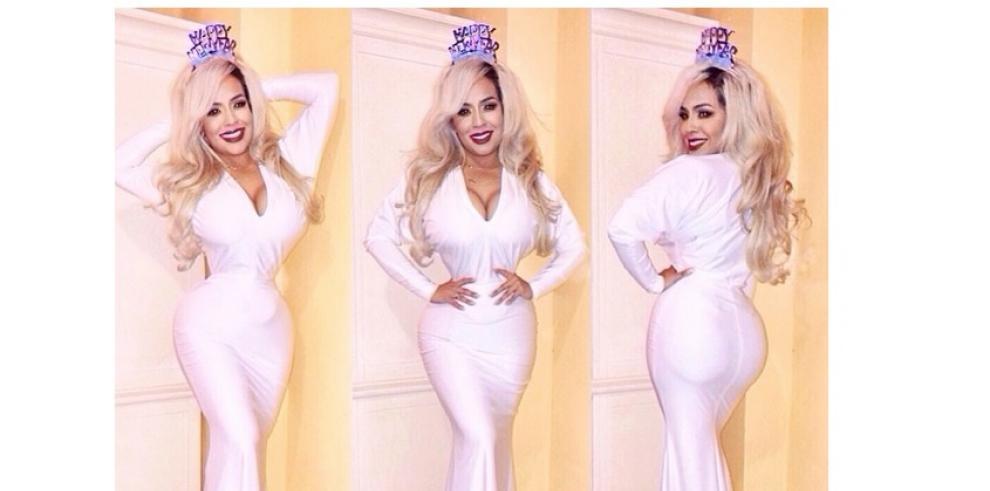 Mujer logra tener una cintura de 40 centímetros