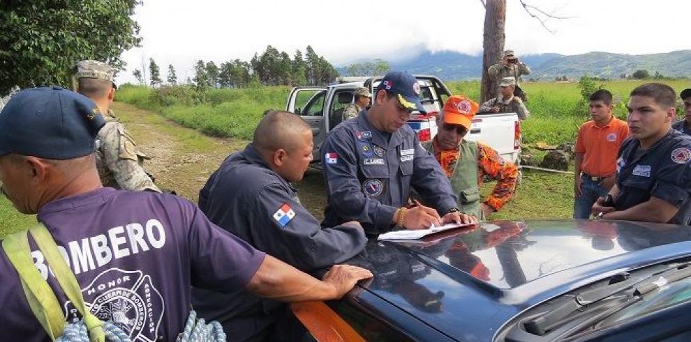 Suspenden búsqueda de desaparecidos en Chiriquí