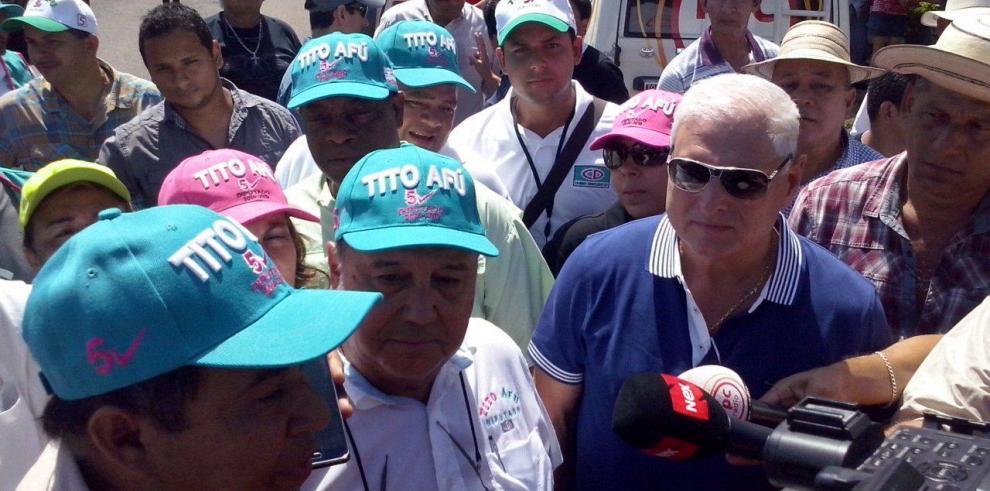Echaron de Guararé a Martinelli y a 'Tito' Afú